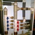 Коллектор системы водоснабжения 1 этажа