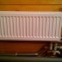 На всех радиаторах установлены термостатические головки Oventrop