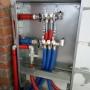 Коллекторный шкаф водоснабжения 2-го этажа