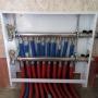 Коллекторный шкаф отопления 1-го этажа. Коллекторы из нержавеющей стали Stout