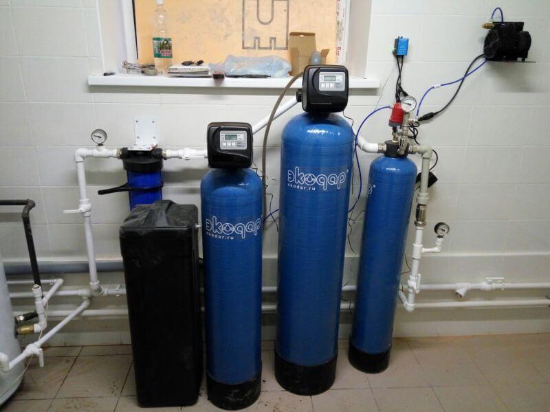 Примеры работ по монтажу систем водоподготовки и систем очистки воды